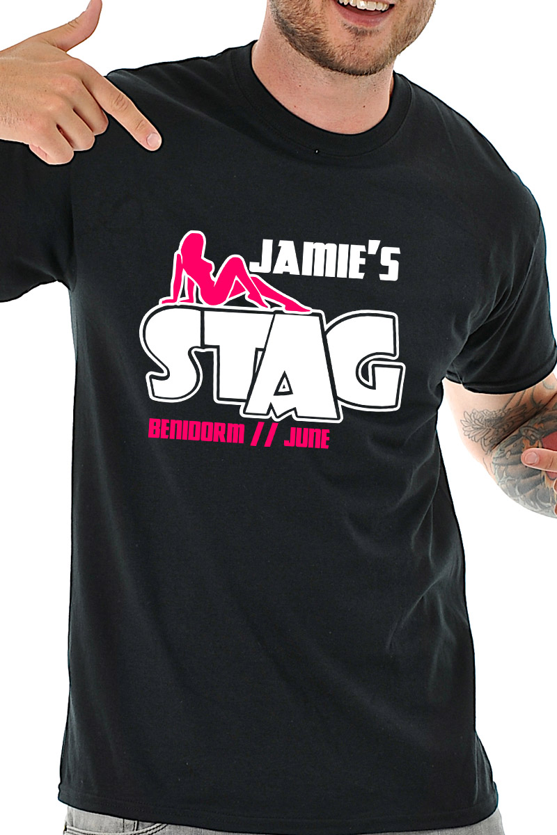 e253a908 Stagshow T-Shirt - Stag Night TShirts on Foxy Funk - Personalised T ...