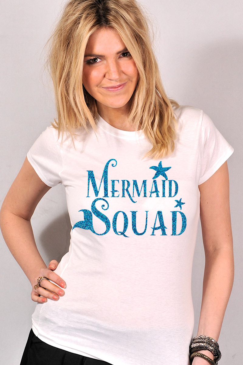 b6c7271f1 Mermaid Hen T Shirt | Personalised Hen Party T Shirt on foxyfunk.com