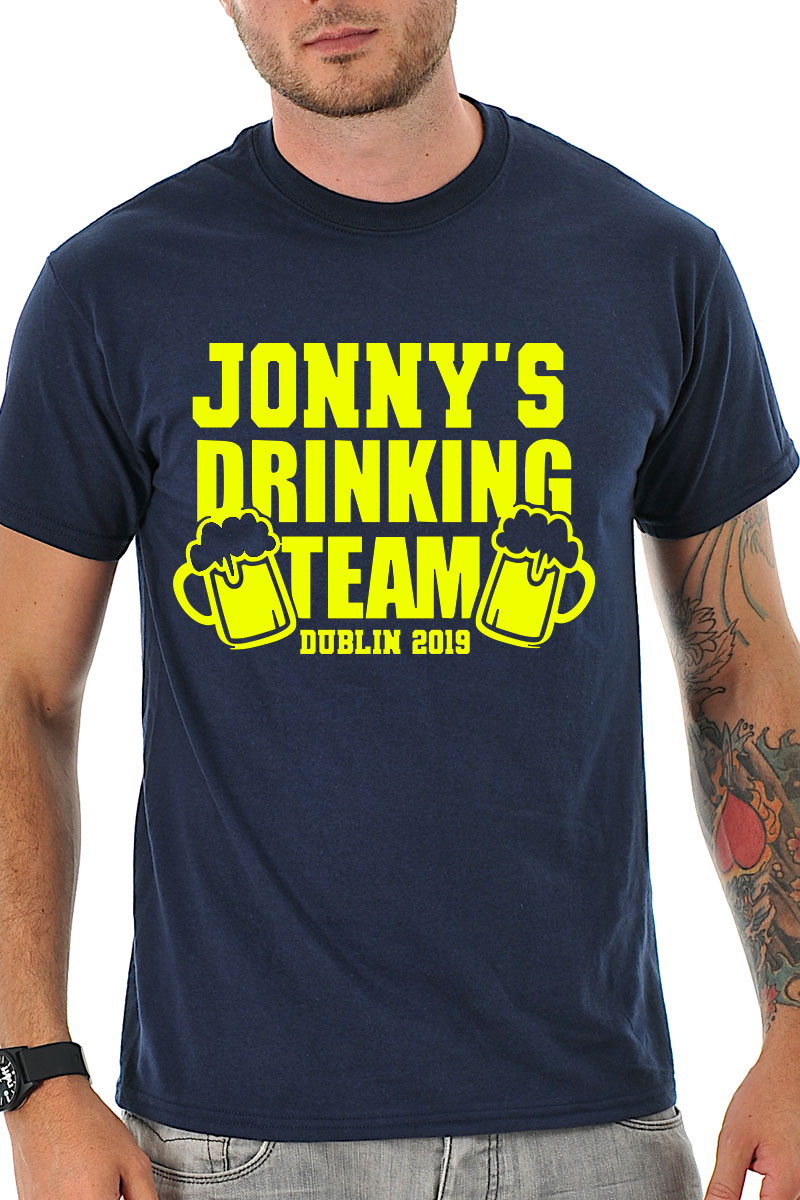 20cdb4ff4 Stag's Drinking Team T-Shirt - Stag Night TShirts on Foxy Funk ...